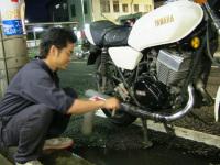 中古バイク整備